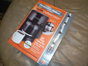 Proctor Silex 10 cup coffee maker, new in box