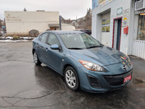 2010 Mazda 3 ONLY 95,000KM 5 SPEED/Certified!