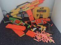 Nerf gun job lot