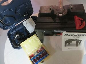 Mastercraft Spin Saw/Router, Router Table and Router 10-Bit Set