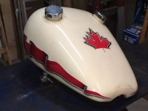 Motorcycle Gas Tank Canadian $100