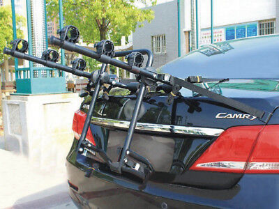 VI 3 Bike Bicycle Cycle Rack Rear Trunk Mount Hitch Carrier For Car SUV