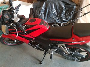 2008 CBR 125 R. SAFETIED