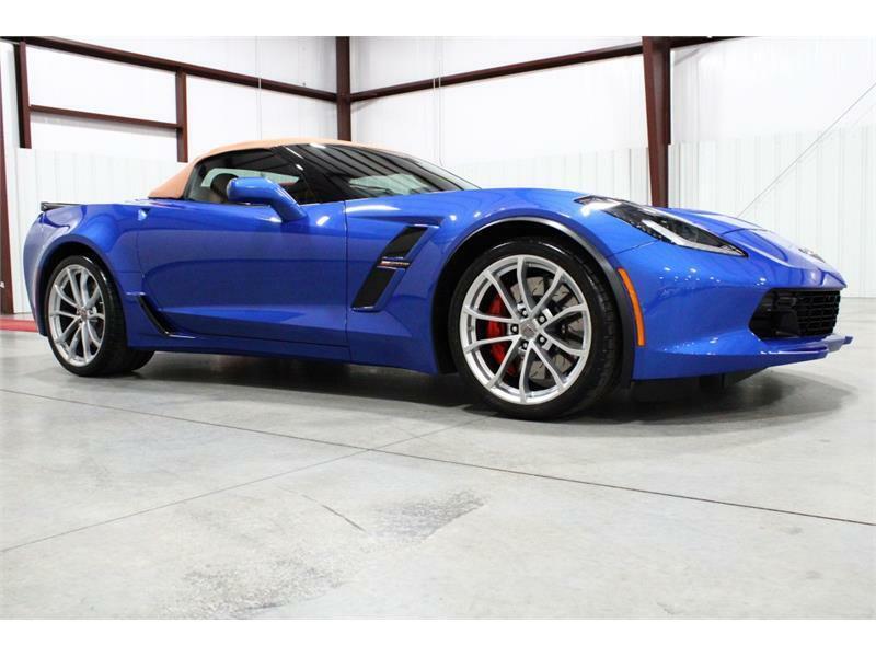 2019 Blue Chevrolet Corvette Convertible 3LT | C7 Corvette Photo 6