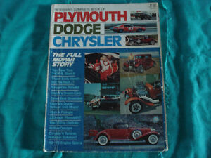 Petersen's Complete Book of Plymouth Dodge Chrysler.