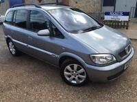 2005 '05' Vauxhall Zafira 1.6 Petrol. Manual. Family 7 Seater MPV. Px Swap