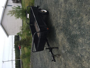 ****** utility trailer with folding sides $350***