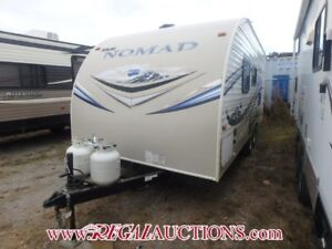 2014 SKYLINE NOMAD 196  TRAVEL TRAILER