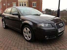 Audi A3 1.9 TDI SPORT SPORTBACK (grey) 2005