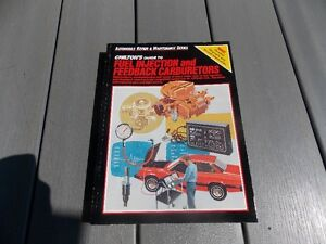 Chilton fuel injection/ feedback carburator manual Windsor Region Ontario image 1
