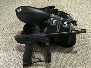 For Sale VIBE and ALPHA BLACK paintball gun