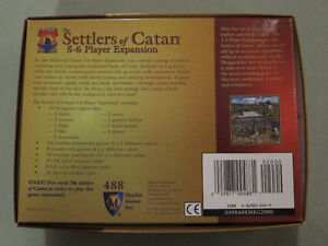 The Settlers of Catan 5-6 Player Expansion 3rd Edition Kingston Kingston Area image 2