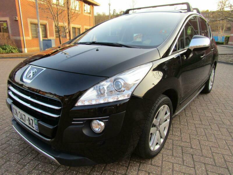 2011 Peugeot 3008 2.O e-HDi HYBRID 4 AUTOMATIC 4X4 5DR ...