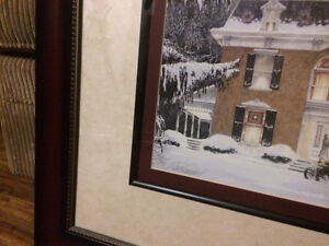 Walter Campbell Heart's Flower Shop Framed Signed  L/E Cambridge Kitchener Area image 2