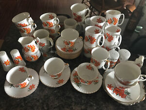 Prairie Lily Bone China