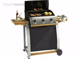 FREE Sahara gas BBQ with gas cannister *must take whole (screws are worn)