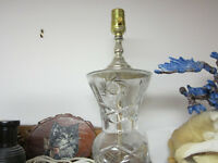 Pinwheel crystal and miscellaneous pieces