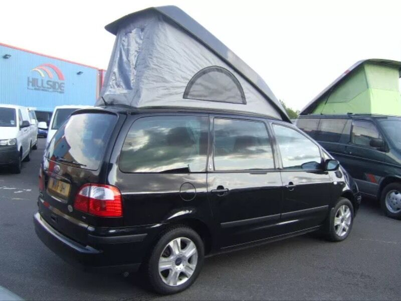 Ford Galaxy Camper Conversion >> Wheelhome Ford Galaxy Ghia Camping Car Conversion In Norwich