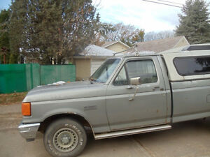 1988 Ford Pickup Truck c/w High-Rise Canopy Edmonton Edmonton Area image 2