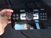 Car stereo CD MP3 and radio