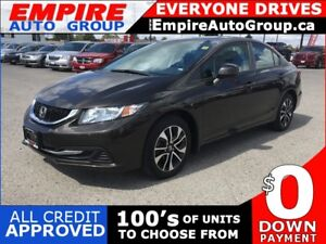 2013 HONDA CIVIC LX PZEV * REAR CAM * SUNROOF * BLUETOOTH * LOW