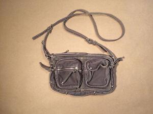 American Eagle purse grey canvas