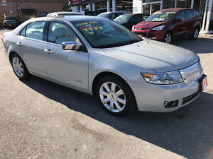 2007 Lincoln MKZ TOURING SEDAN...LOW KMS...PERFECT MINT COND.