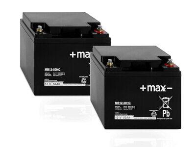 Kompatibler Akku für Seniorenmobil Scooter HS-300E 24V 50Ah AGM Blei Batterie