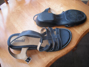 Bjorndal Ladies leather sandals