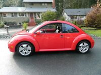 2002 Volkswagen Beetle Turbo S Model Coupe (2 door)
