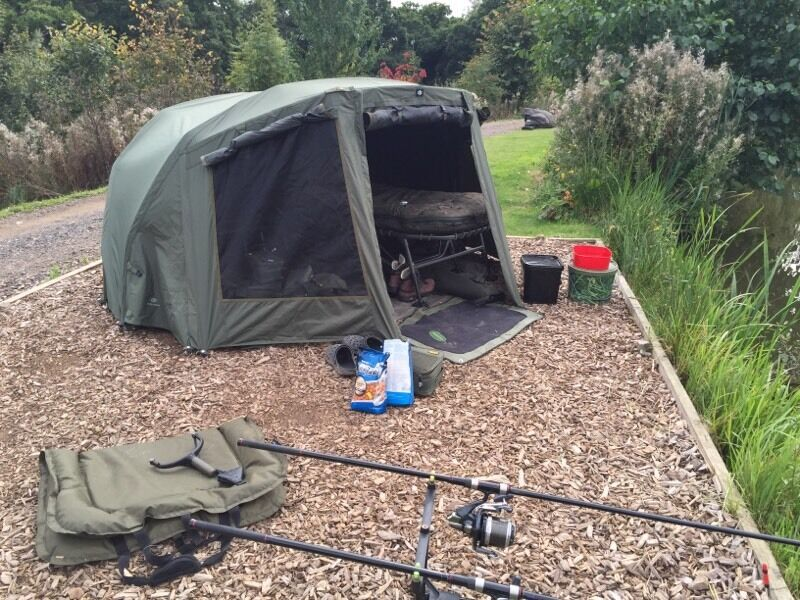 Jrc tx 2g bivvy and over wrap like new in hedge end for Wrap fishing system