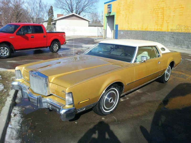 73 lincoln continental mark iv for trade only classic cars edmonton kijiji. Black Bedroom Furniture Sets. Home Design Ideas