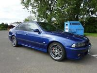 2001 BMW E39 M5 4.9 SHOWROOM CONDITION 2 KEYS FULL SERVICE FULL YEAR MOT