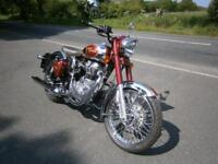 ROYAL ENFIELD CLASSIC CHROME 500. 8.9 APR PERCENT FINANCE.