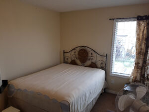 Available TWO Furnished rooms on the upper level in Timberlea