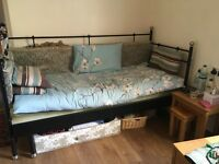 IKEA day bed including foam mattress