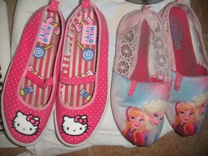 girls shoes size 2, 3, 4 and 5
