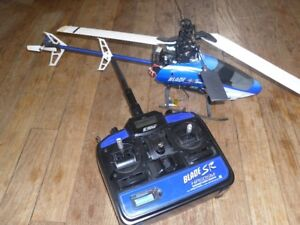 remote control and a  blade sr hellocoper