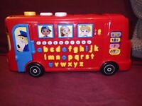 VTech Baby Playtime Bus with Phonics - Red Toy