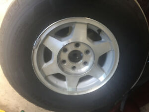 Truck Tires with Rims 16 inches.