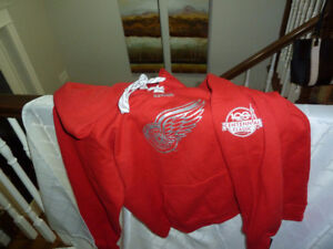 Detroit Red Wings Hoodie  and other items -  all new with tags