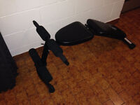 Exercise Bench, Mats, Dumbells and Weights for sale