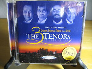The 3 Tenors in Concert, Live from Dodger Stadium, CD