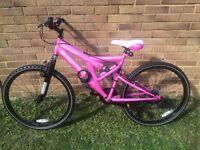 Pink MuddyFox Mountain Bike For Sale