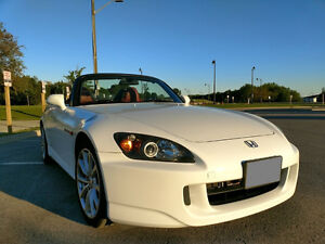 2006 S2000 Convertible 2 Seater (AP2) - WHITE+RED
