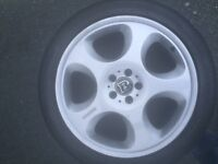 "Mercedes Amg Brabus 20"" monoblock alloy wheels with brand new tyres"
