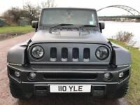 2016 66 JEEP WRANGLER 2.8 SAHARA UNLIMITED CRD 4D AUTO 197 BHP DIESEL