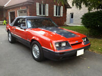 1986 Mustang GT Convertible 5 Speed