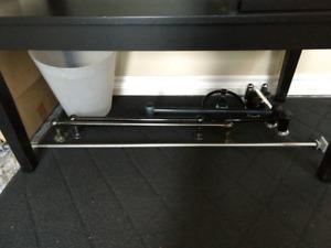 Bathroom hardware towel rails