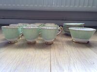 Rare Tuscan Plant China tea set